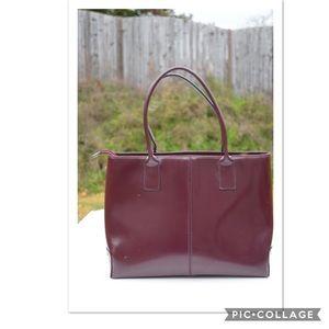 Vintage Arcadia patent tote bag